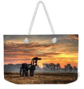 A New Day The Iron Horse Weekender Tote Bag
