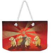 A New Day Waiting Weekender Tote Bag