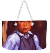 A New Mexico Boy 1916 Weekender Tote Bag