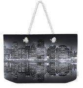 A New York City Night Weekender Tote Bag
