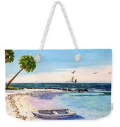 A Nice Day At The Beach Weekender Tote Bag