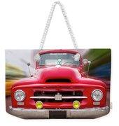 A Nice Red Truck  Weekender Tote Bag