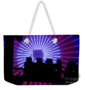 A Night At Santa Monica Pier Weekender Tote Bag