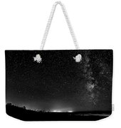 A Night At The Beach 11 Bw Weekender Tote Bag