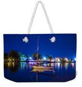 A Night At The Lake Weekender Tote Bag