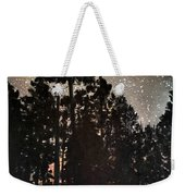 The Forest Night Weekender Tote Bag