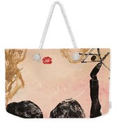 A Night Out Weekender Tote Bag
