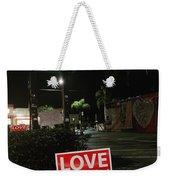 A Night Walk In Orlando  Weekender Tote Bag