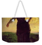 A Norman Milkmaid At Greville Weekender Tote Bag