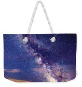 A Northern View Of The Milky Way Weekender Tote Bag
