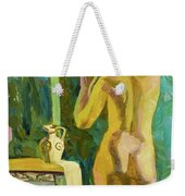 A Nude And Light Weekender Tote Bag