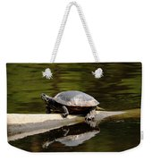 A Painted Reflection Weekender Tote Bag