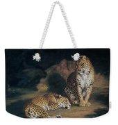 A Pair Of Leopards Weekender Tote Bag