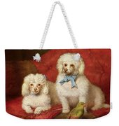 A Pair Of Poodles Weekender Tote Bag