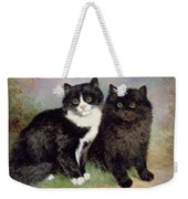A Pair Of Pussy Cats Weekender Tote Bag