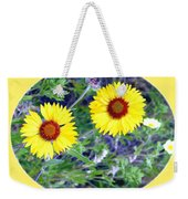 A Pair Of Wild Susans Weekender Tote Bag