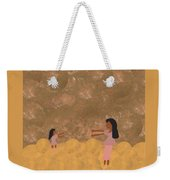 A Parent And Child Reunion Weekender Tote Bag