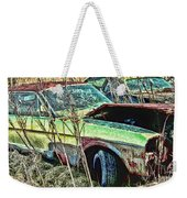 A Parted Out Mustang Weekender Tote Bag