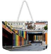 A Throughway Of Many Colors Weekender Tote Bag by Lorraine Devon Wilke