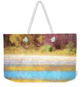 A Pastel Autumn Weekender Tote Bag