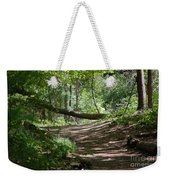 A Path In The Woods Weekender Tote Bag