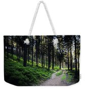 A Path Through A Dense Forest Weekender Tote Bag