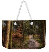 A Path Through The Woods Weekender Tote Bag