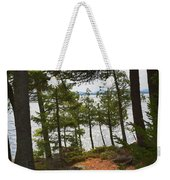 A Path To The Point Weekender Tote Bag