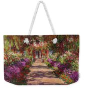 A Pathway In Monets Garden Giverny Weekender Tote Bag