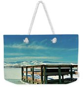 A Peaceful Pier Weekender Tote Bag