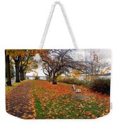 A Peaceful Stroll Weekender Tote Bag