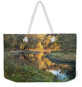 A Peak At Autumn Weekender Tote Bag