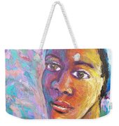 A Pensive Moment Weekender Tote Bag