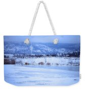 A Penticton Winter Weekender Tote Bag