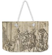 A Performance By The Commedia Dell'arte Weekender Tote Bag