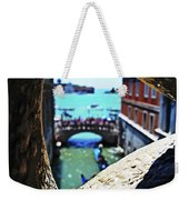 A Piece Of Venice Weekender Tote Bag