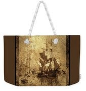 A Pirate Looks At Forty Schooner Wharf Weekender Tote Bag
