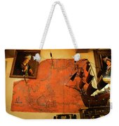 A Pirates Map Room Weekender Tote Bag