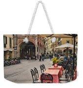 A Pisa Cafe Weekender Tote Bag