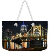 A Pittsburgh Panorama Weekender Tote Bag