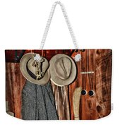 A Place To Keep My Hat Weekender Tote Bag
