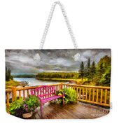 A Place To Relax And Enjoy Weekender Tote Bag