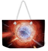 A Planetary Nebula Is Forming Weekender Tote Bag
