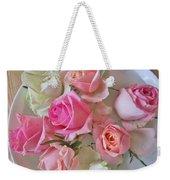 A Plate Of Roses Weekender Tote Bag