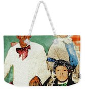 A Play In Three Acts Weekender Tote Bag