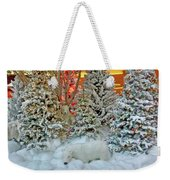 A Polar Bear Christmas Weekender Tote Bag