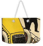A Police Car Runs Over A Little Girl Weekender Tote Bag