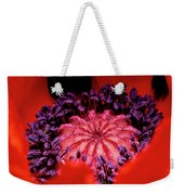 A Poppy's Heart Weekender Tote Bag
