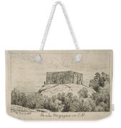 A Powder Magazine In Central Park From Scenes Of Old New York, By Henry Farrer, 1844-1903 Weekender Tote Bag