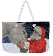 A Present For Santa Weekender Tote Bag